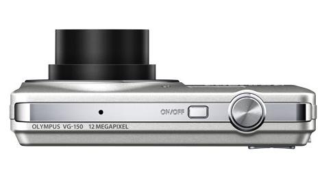 Olympus Smart VG-150 argent de haut