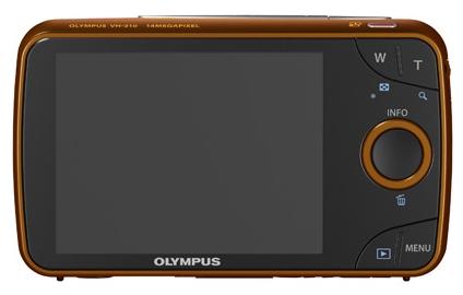 Olympus Smart VH-210 orange de dos