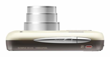 Olympus Smart VH-210 blanc de haut