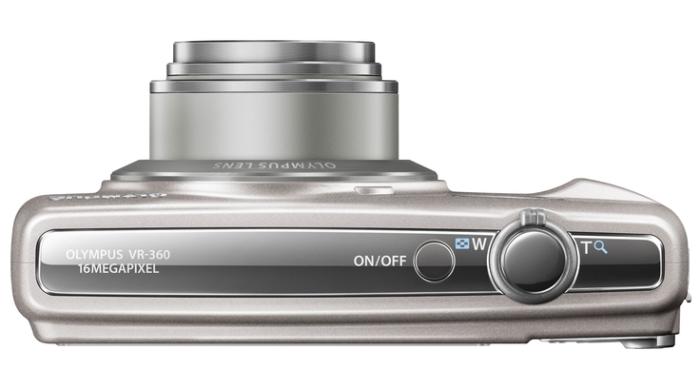 Olympus Smart VR-360 argent de haut