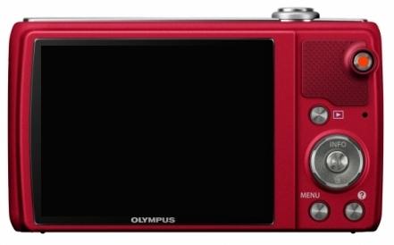 Olympus Smart VR-340 rouge de dos