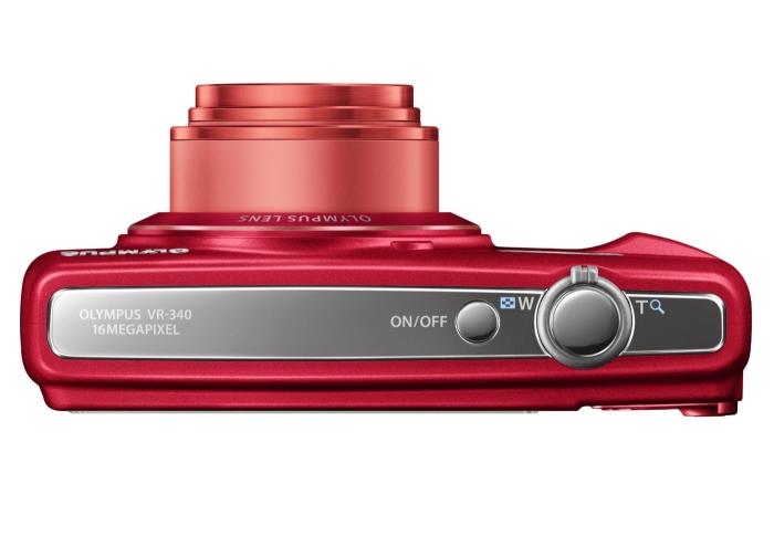 Olympus Smart VR-340 rouge de haut