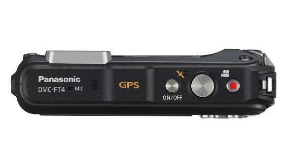 Panasonic Lumix DMC-FT4 noir de haut