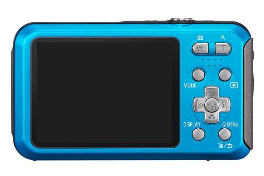 Panasonic Lumix DMC-FT20 noir de dos