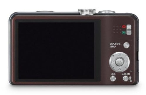 Panasonic Lumix DMC-TZ30 marron de dos