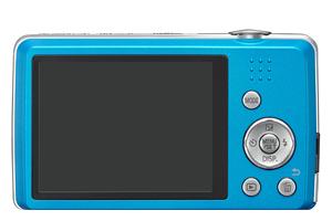 Panasonic Lumix DMC-TZ40 bleu de dos