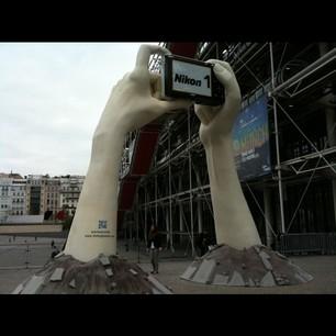 le Nikon 1 J1 à Paris