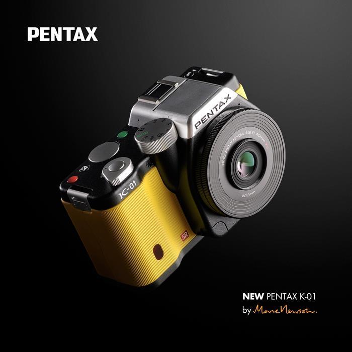 K-01, le nouvel hybride de Pentax par Marc Newson