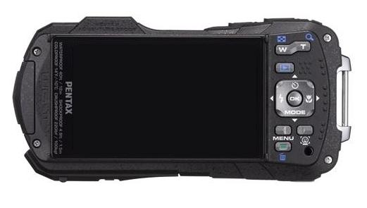 Pentax Optio WG-2 GPS blanc de dos