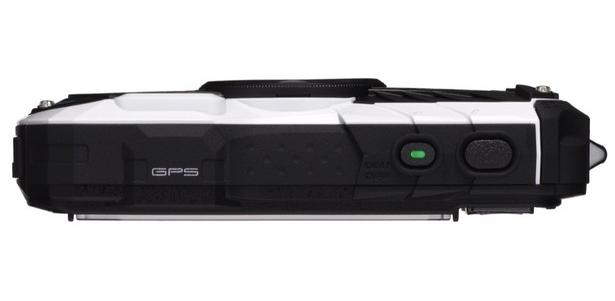 Pentax Optio WG-2 GPS blanc de haut