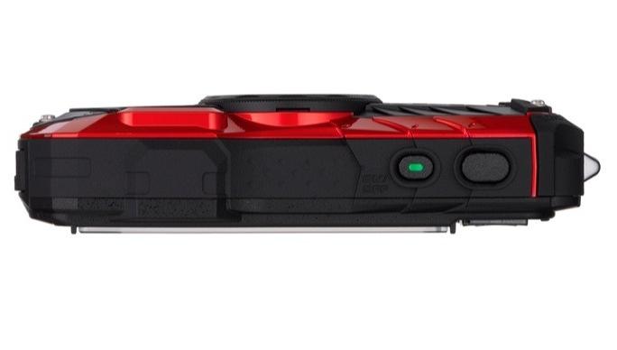 Pentax Optio WG-2 rouge de haut