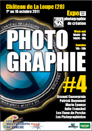 Photo graphie 4ème édition 2011 Château de La Loupe