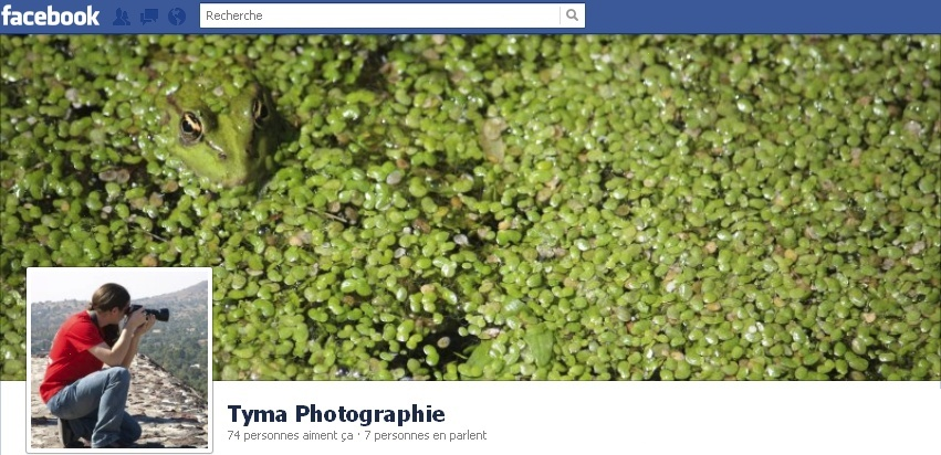 Photo de couverture de ma page Tyma Photographie sur Facebook