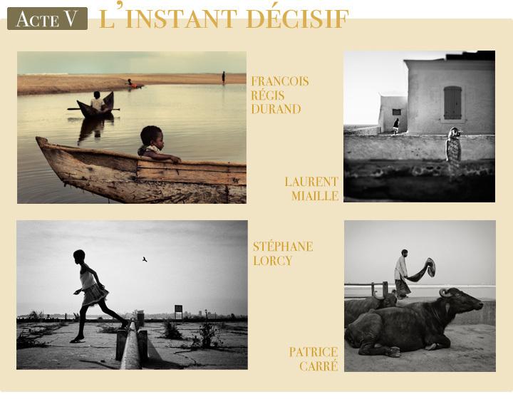 Les 3 lauréats (Laurent Miaille, Patrice Carré et Stéphane Lorcy) et François-Régis Durand de l'Acte V de L'Exposition Originale de Compétence Photo