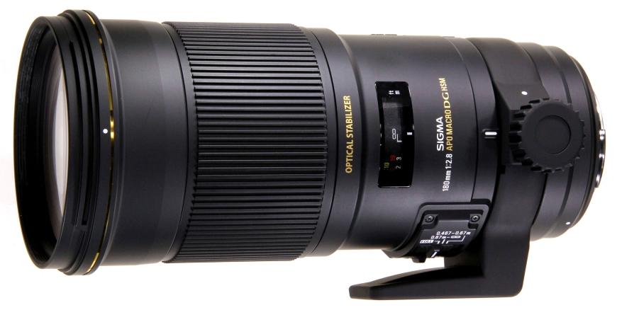 APO Macro 180mm f/2.8 DG OS HSM EX, l'objectif Sigma unique