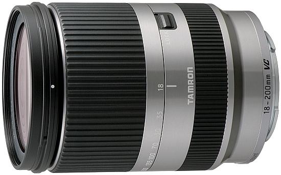 Tamron 18-200mm f/3.5-6.3 Di III VC TIPA Awards 2012 Meilleur objectif d'entrée de gamme