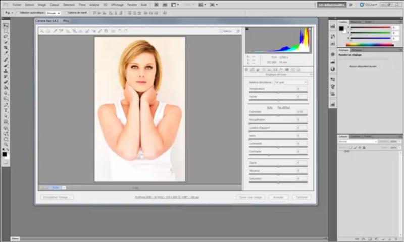 Le noir et blanc pour les débutants avec Photoshop CS5 et Camera Raw