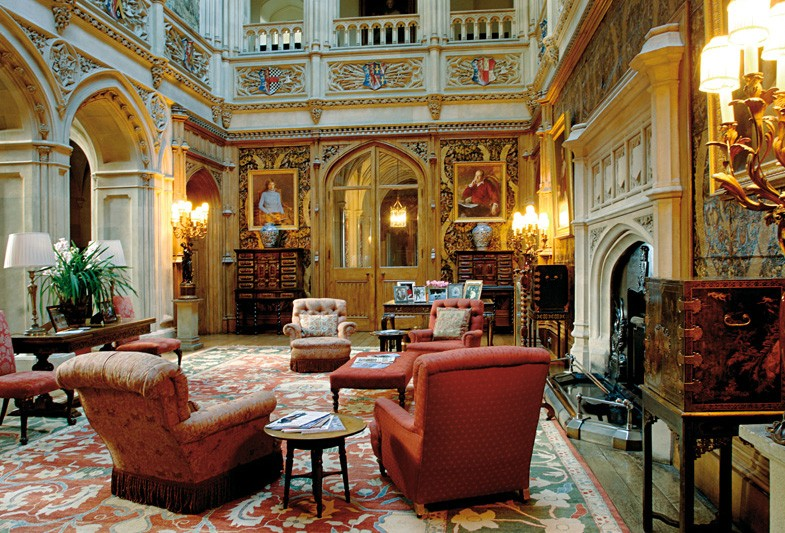 Downton abbey s rie - Chateau de downton abbey ...