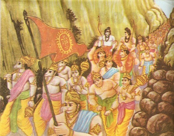 parts of ramayana He later went to the sacred town of tirupati to learn the ramayana over the  period of one year form his uncle tirumalai nampi according to tradition, he.