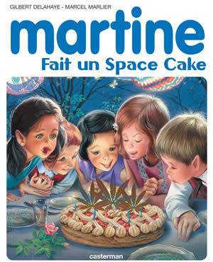 martine se fait un space cake