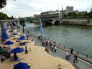 Paris plage...  dans Le jardin des souvenirs 07211