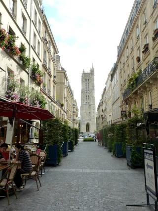 La tour Saint Jacques...  dans Le jardin des souvenirs 16110