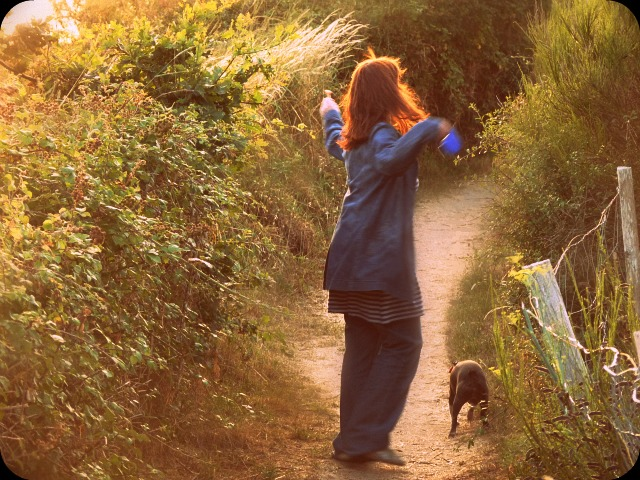 Les petits chemins...  dans Le jardin des souvenirs p1000410