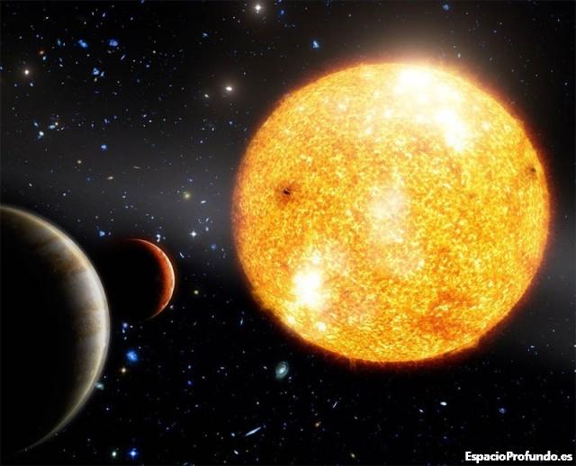 El sistema solar mas antiguo del Universo