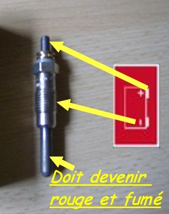 moteur m41 318 tds changement des bougies de pr chauffage. Black Bedroom Furniture Sets. Home Design Ideas