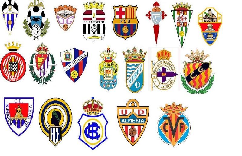 Liga adelante saison 2011 2012 - Logo club foot bresil ...