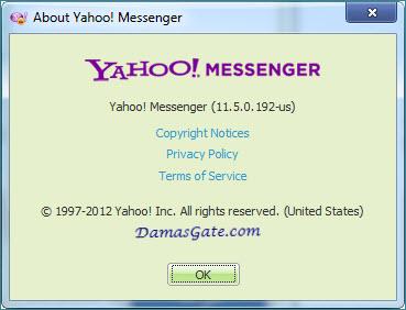 شهير المحادثات Yahoo! Messenger 11.5.0.192