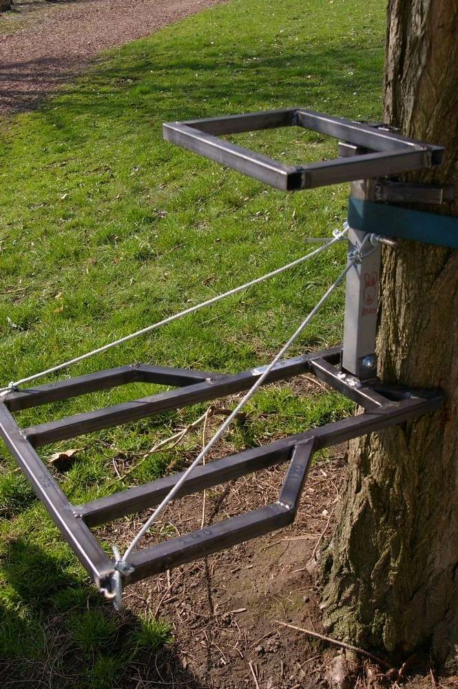 Un tree stand pour chacun fabrication - Fabrication glue pour chasse ...