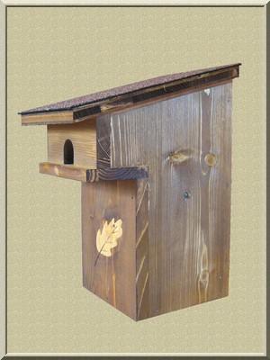 Fabriquer un nichoir pour oiseaux - Fabriquer un epouvantail a oiseaux ...