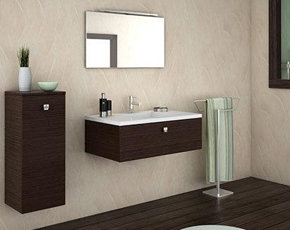 Salle de bain en 3d pour commencer - Carrelage 3d salle de bain ...