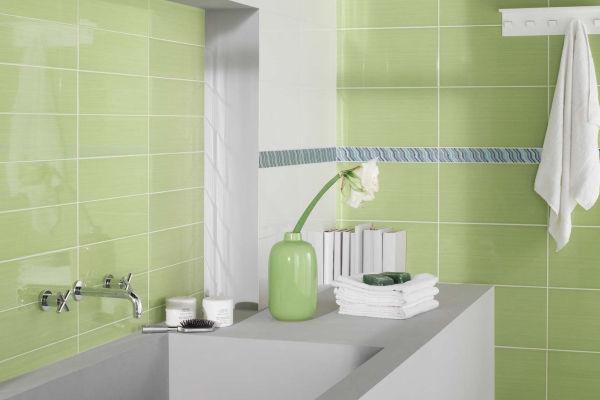 faience vert et blanc ~ solutions pour la décoration intérieure de ... - Faience Salle De Bain Vert