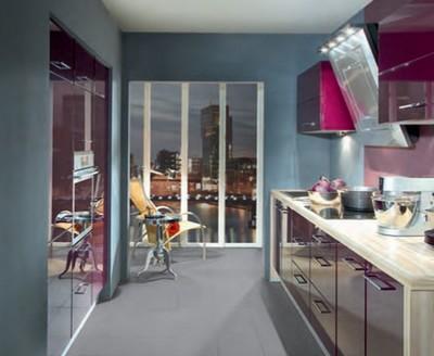 Article couleur association bleue et violet - Idee deco cuisine pas cher ...