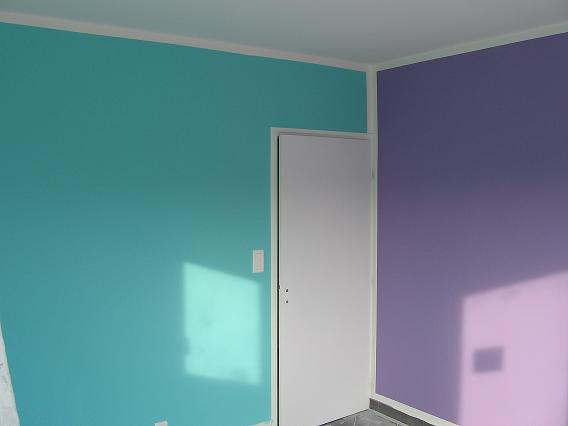 Article couleur association bleue et violet for Chambre couleur parme