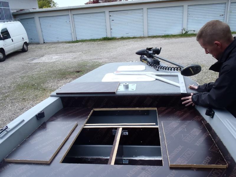 am nagement d 39 une silurine en bass boat customis. Black Bedroom Furniture Sets. Home Design Ideas
