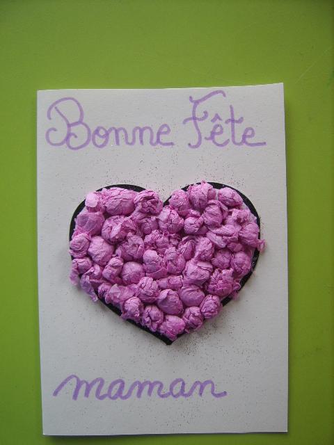 Amazing coeur en papier crepon 13 fleur en papier cr pon homeezy - Boulette papier mariage ...