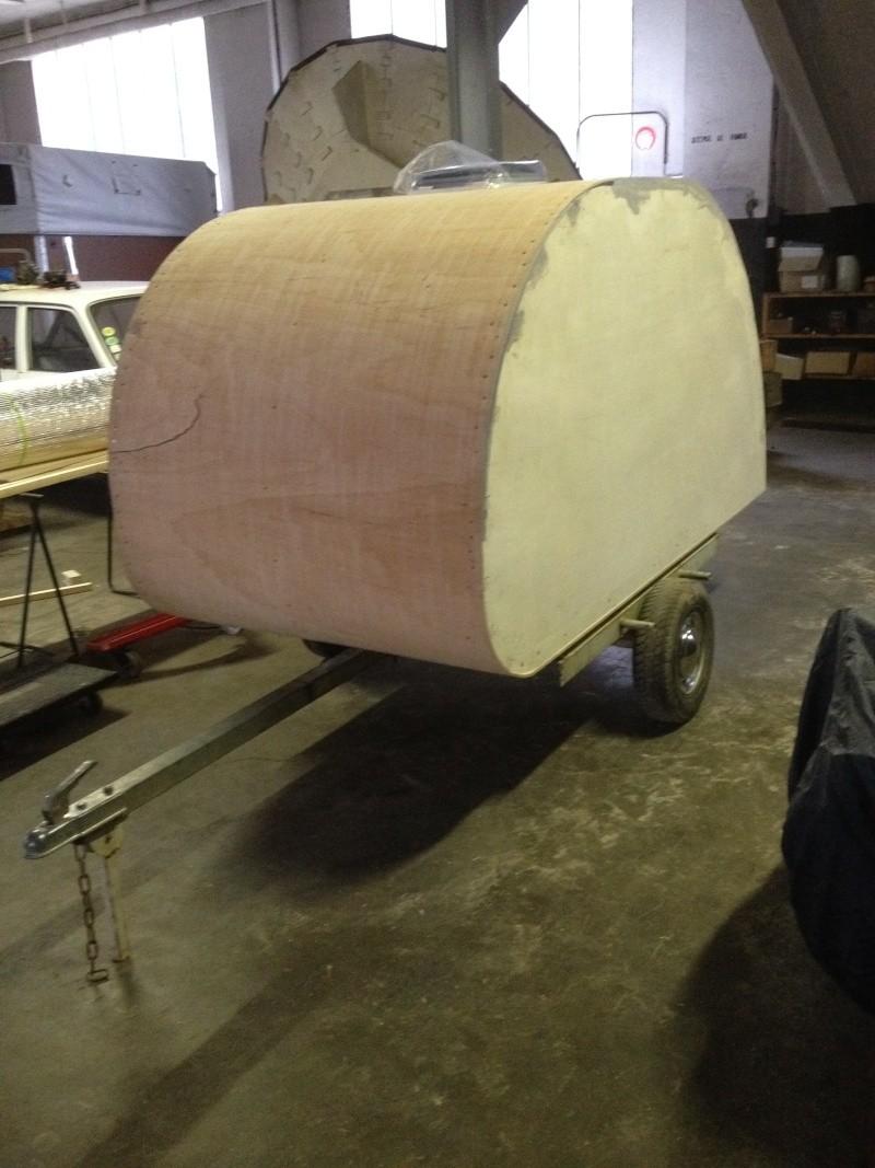 Fabrication d'un TEARDROP TRAILER une mini caravane - Page 2