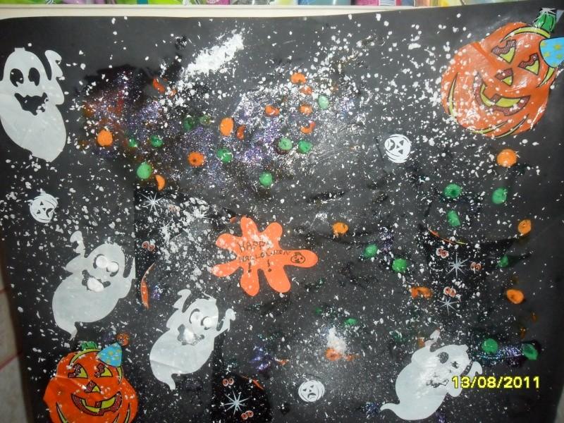 La nuit d 39 halloween bricolage activit s manuelles assistante maternelle Bricolage maternelle halloween