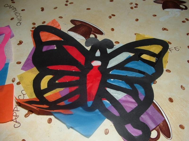Papillon vole mobile - Papillon en papier de soie ...