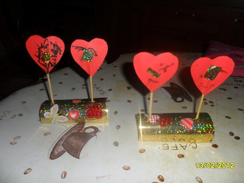 Centre de table pour la saint valentin bricolage - Bricolage st valentin facile ...