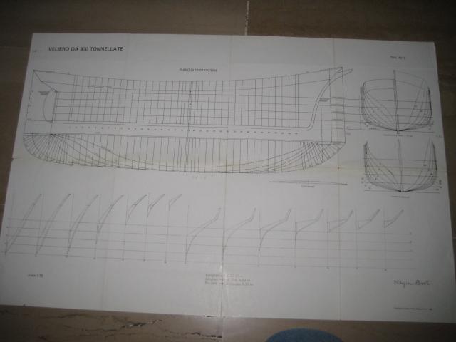 Piani di costruzione goletta for Disegnare piani di costruzione in scala