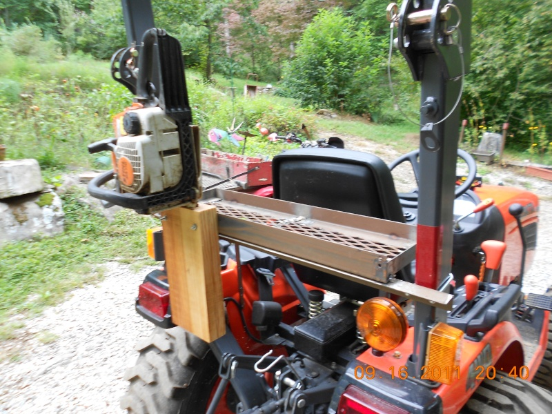 Tractor Implements: TOOL-BOX-HOLDER-3RD-TRY
