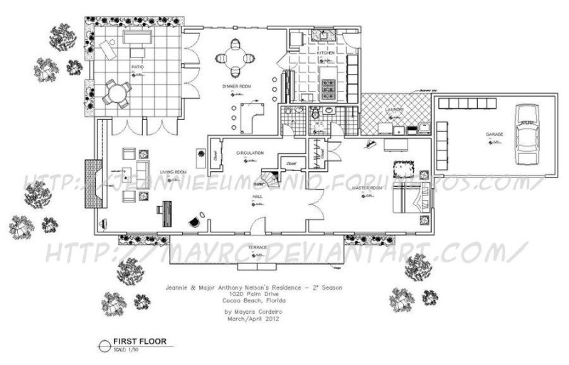 Floor Plan For Major Anthony Nelson 39 S House I Dream Of