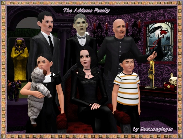 center The Addams Family The Addams Family 3
