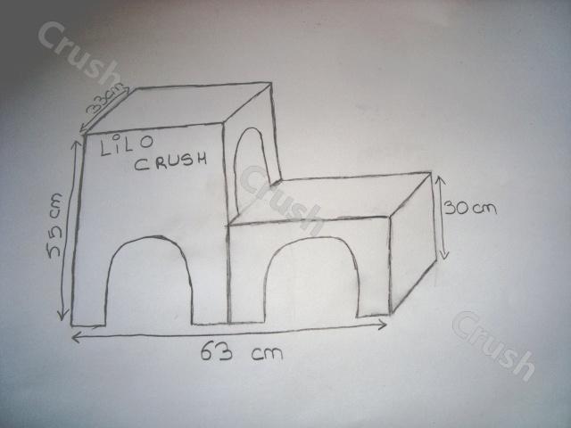 Cabane En Bois Pour Lapin : construire une cabane en carton pour lapin dans la rubrique Travaux