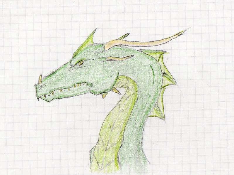Fan art - Comment dessiner un dragon chinois ...