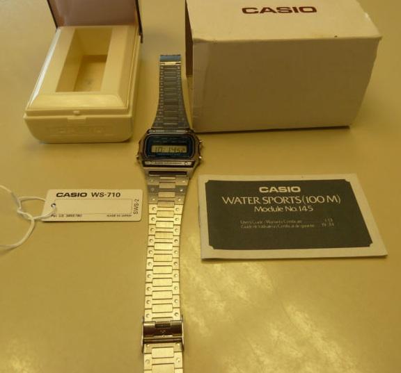 montre-bracelet casio